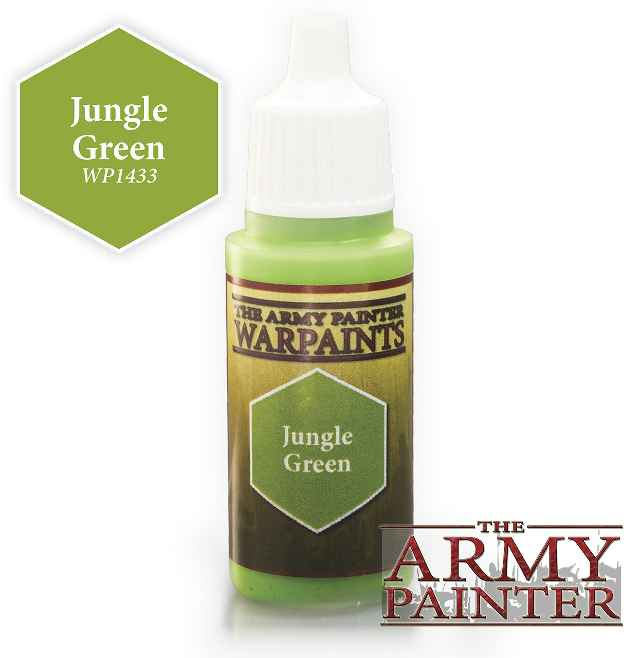 Краска The Army Painter: Jungle Green (WP1433)