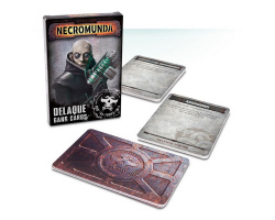 Necromunda: Delaque Gang Cards (300-28-60)