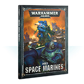 Кодекс Warhammer 40000 Codex Space Marines (HB) (48-01-60)