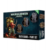 Warhammer 40000: Death Guard + Paint Set (60-27-15)