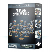 Набор Warhammer 40000 Start Collecting! Primaris Space Wolves (70-53)