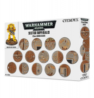Sector Imperialis 32mm Round Bases (66-91)