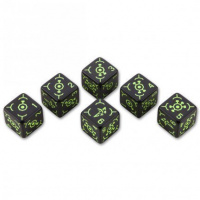 Набор кубиков «Ingress 6D6 Dice Set: Enlightened» (6d6)