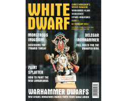 Журнал White Dwarf: February 2014 Issue 1