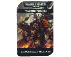 Warhammer 40000: Chaos Space Marines Psychic Powers (43-02-60)