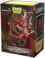 Протекторы Dragon Shield Valentine Dragon 2020 (AT-12047)