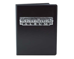 Альбом Ultra Pro Collectors Portfolio Black 3х3 (81366)