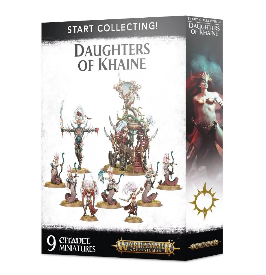 Набор Warhammer Age of Sigmar Start Collecting! Daughters of Khaine (70-61)