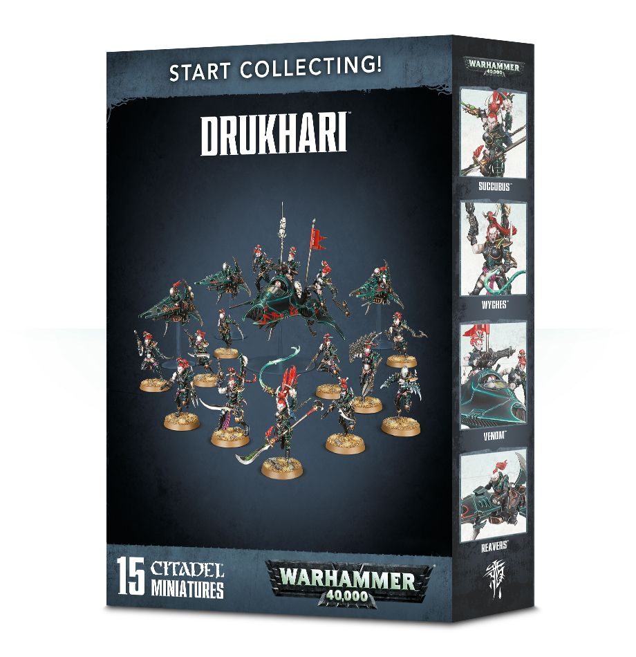 Warhammer 40000: Start Collecting! Drukhari (70-45)