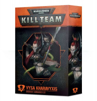Kill Team: Vysa Kharavyxis Drukhari Commander Set (102-35-60)