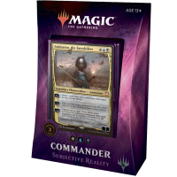 "MTG Commander 2018. ""Subjective Reality"""
