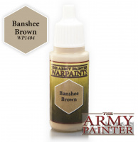 Краска The Army Painter: Banshee Brown (WP1404)