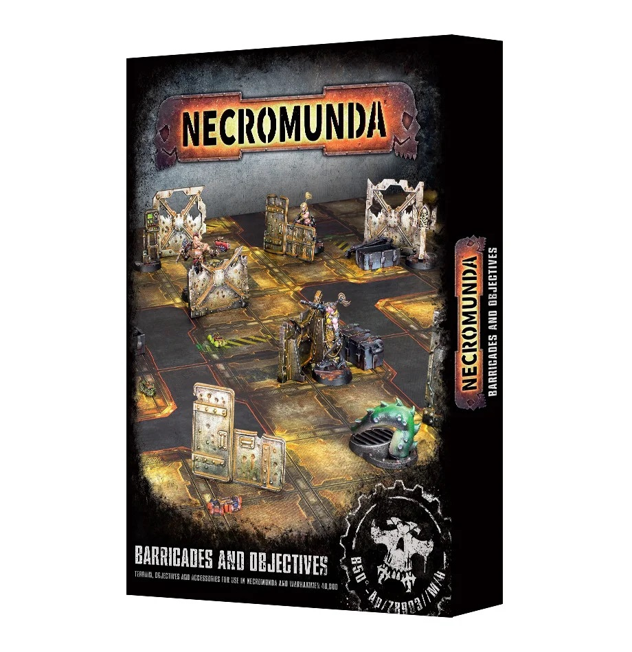 Necromunda: Barricades and Objectives (300-04)