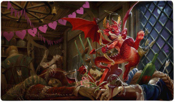 Игровое поле Dragon Shield Playmat Valentine Dragons 2020 (AT-22547)